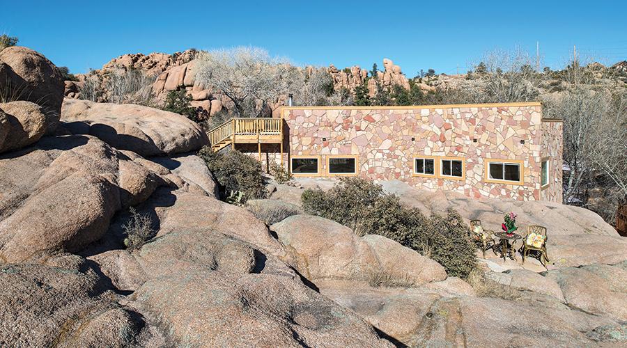 Cave Castle of the Granite Dells