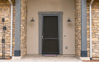 Safety and Beauty with Prestige Security Doors
