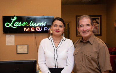 At Laserium Med Spa, making a difference is the main offering