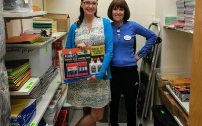 Teacher's Supply Closet Open Weekly so PUSD Teachers Can Outfit Their Classrooms for Success