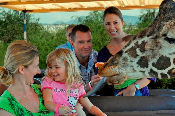 """""""Out of Africa"""" comes to life at Camp Verde wildlife park"""