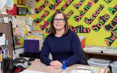 Shelley Soifer enjoys helping kindergarteners develop solid school foundation